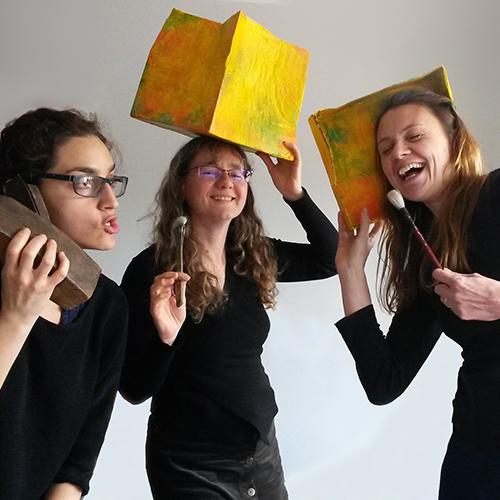 From left to right ; Fatima Pantoja, Nicole Lejeune, Rebecca Lyon.