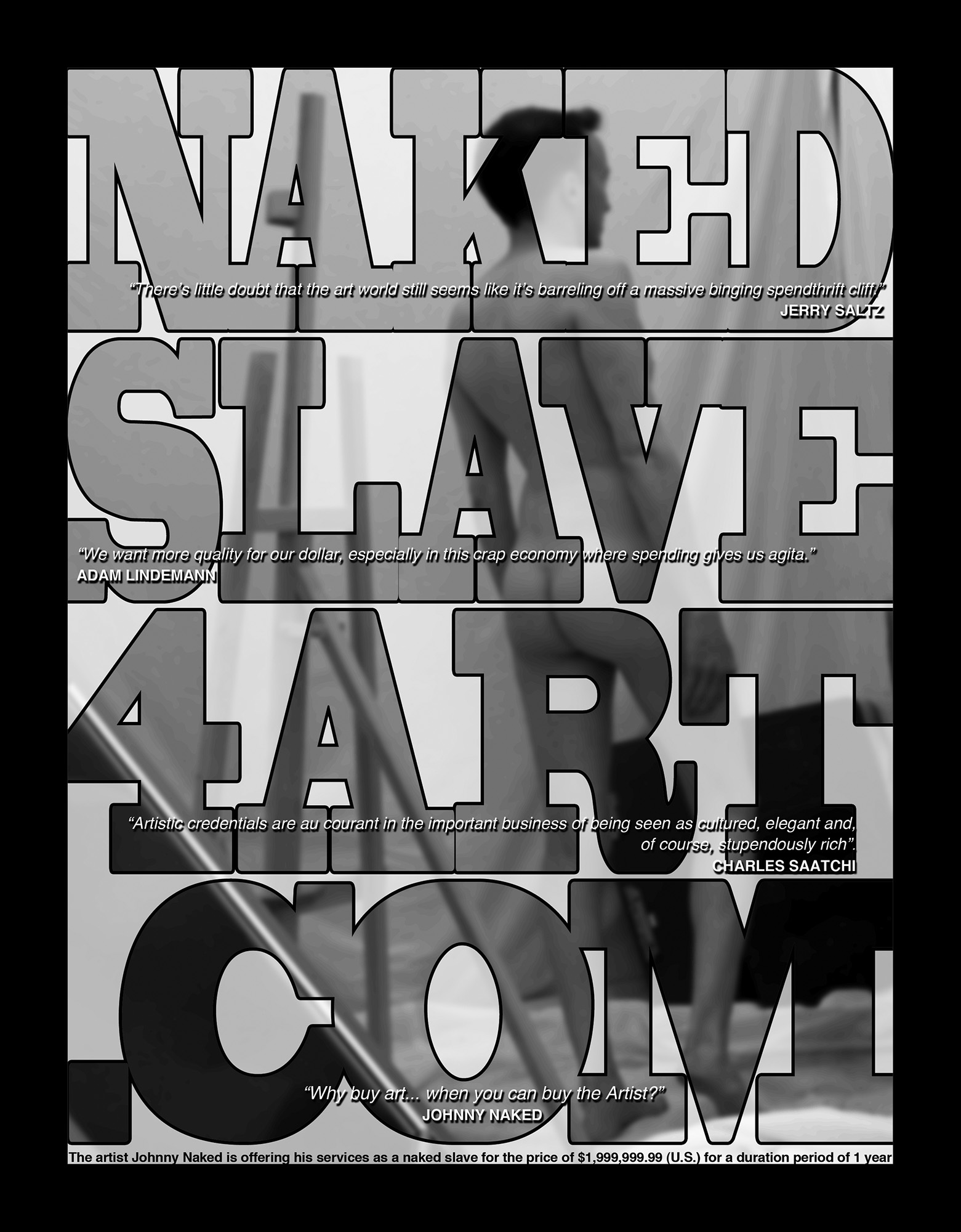 The Naked Slave 4 Art