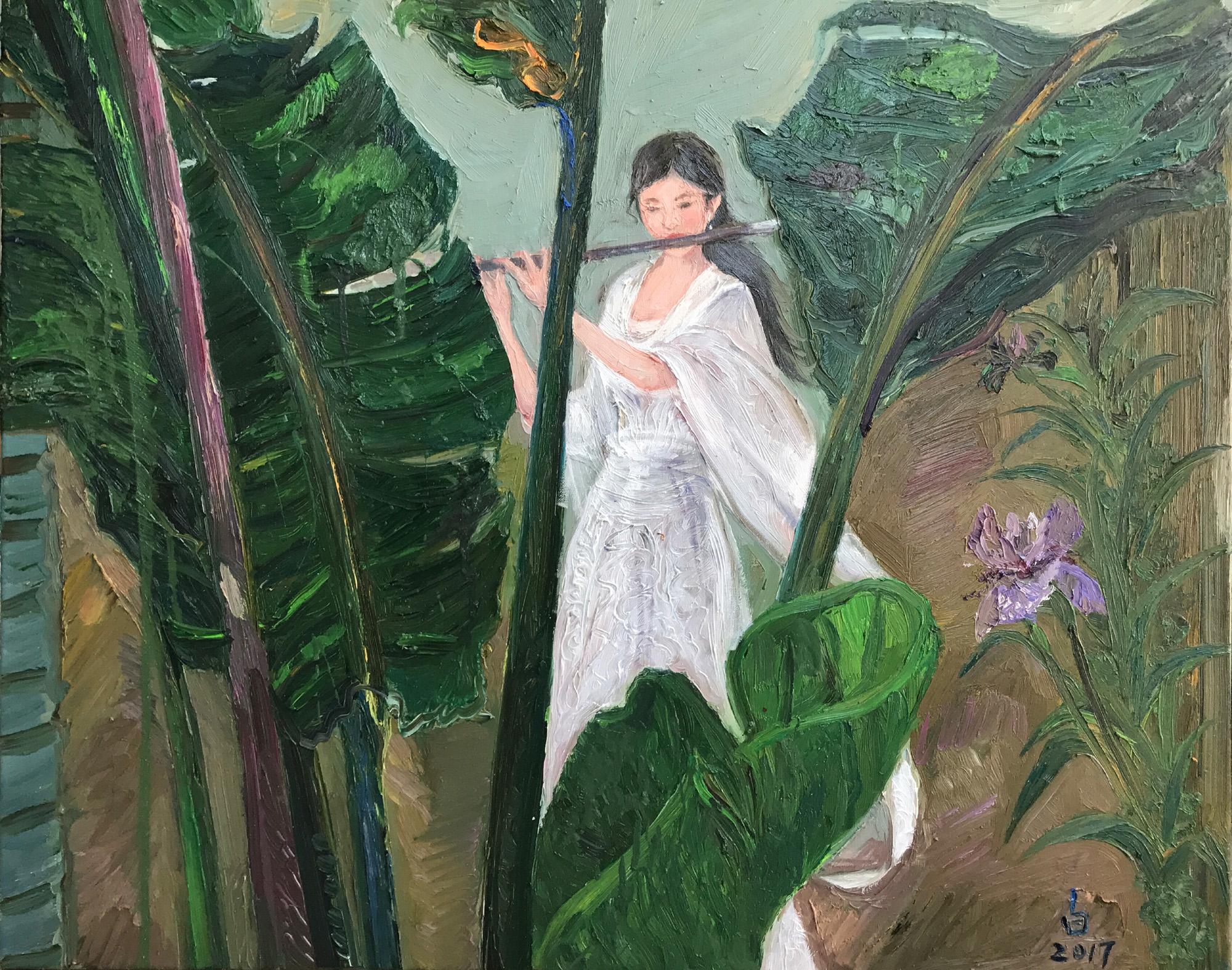 蕉叶箫音 The sound of plantain and vertical bamboo flute