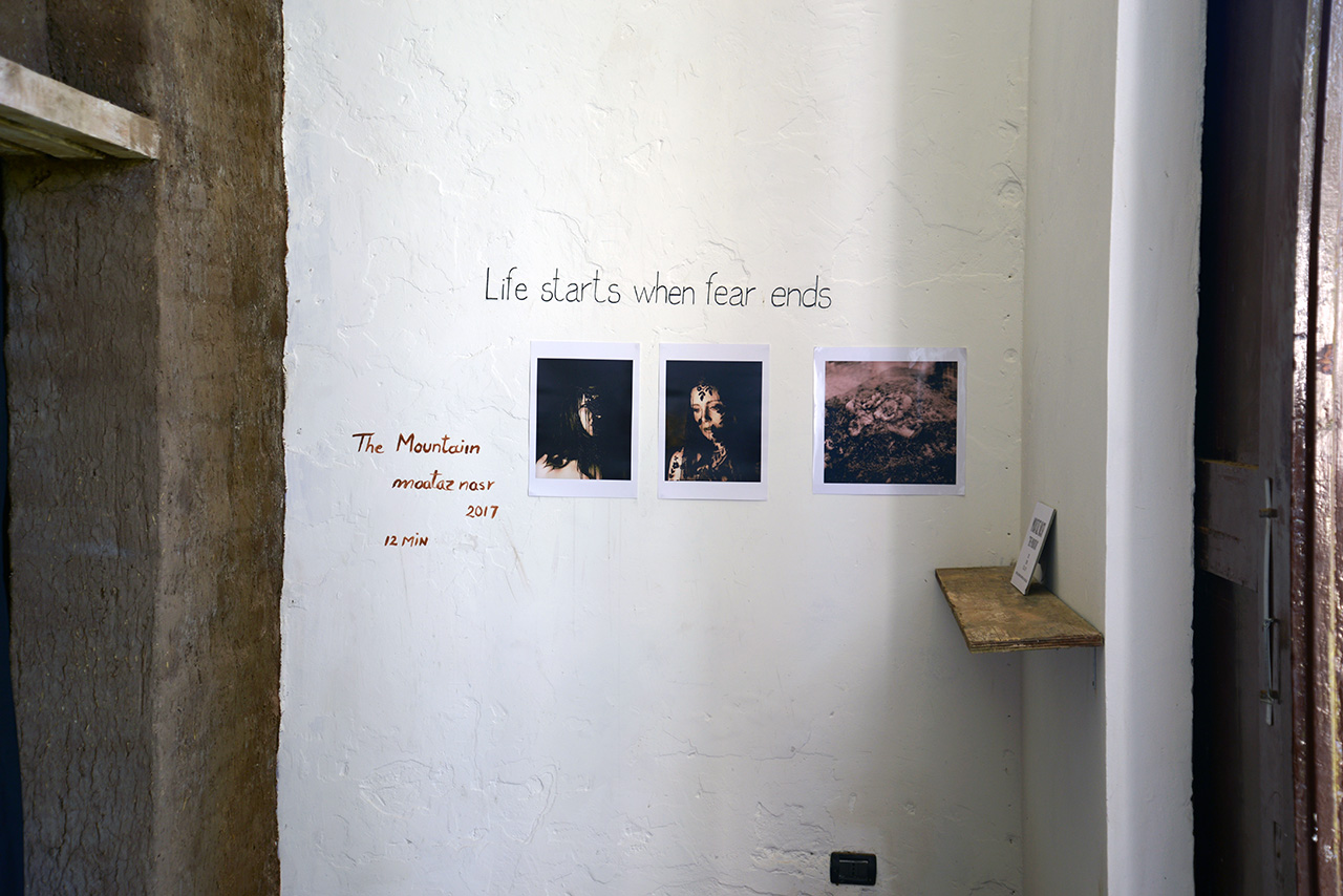 Exhibiting photographs of Florence d'elle, Giardini