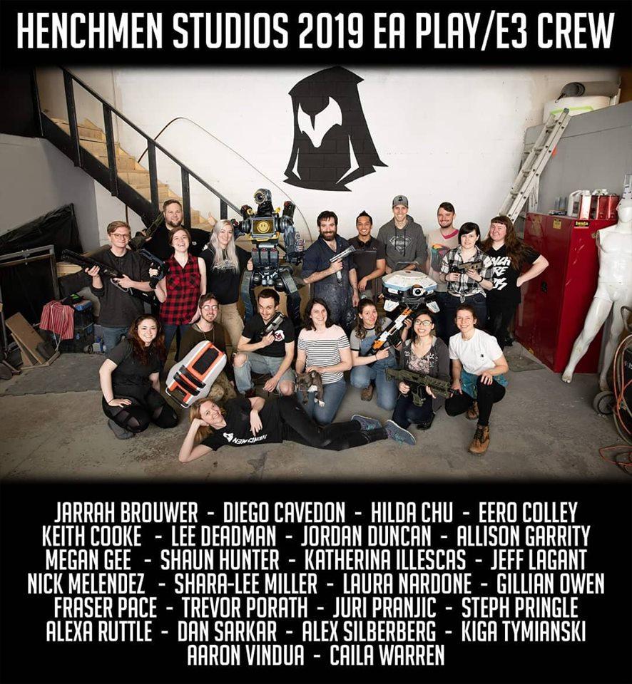 Hench E3 Crew