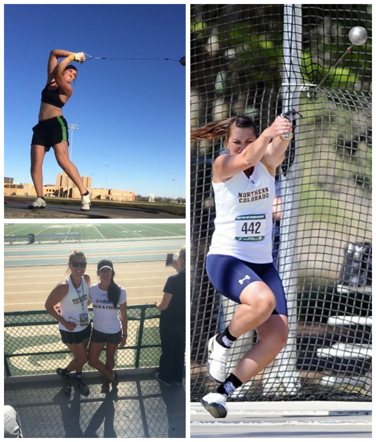 Jacquie Palizzi, NCAA Division I Hammer Thrower