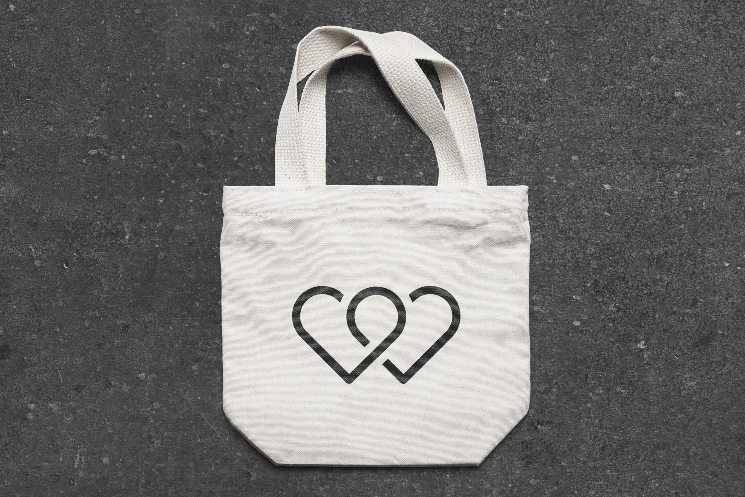 Logo displayed on a tote bag