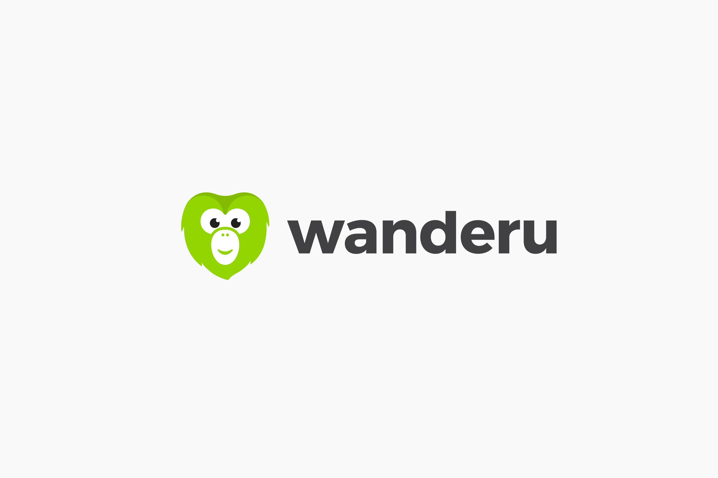Wanderu logo • horizontal version