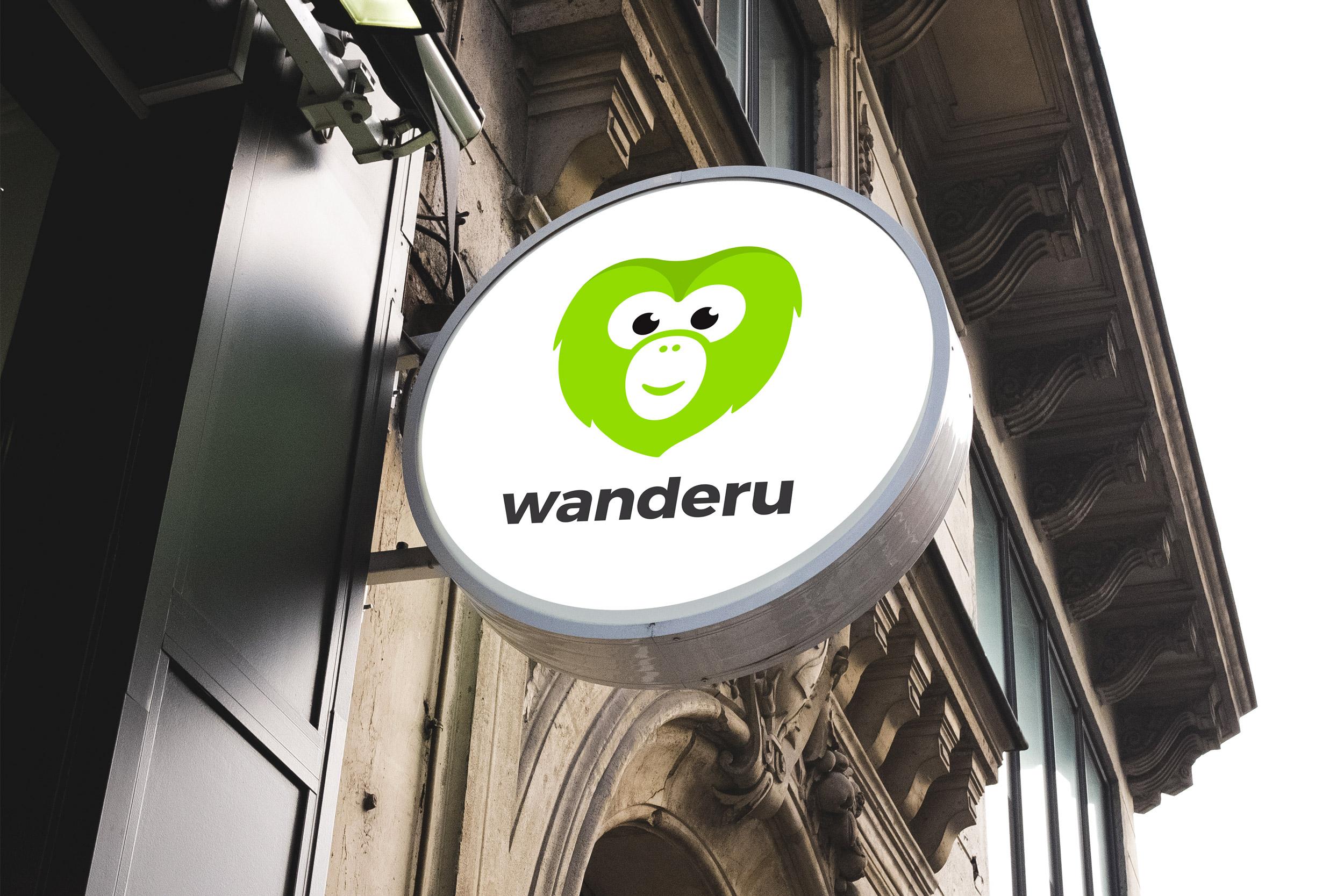 Wanderu sign design