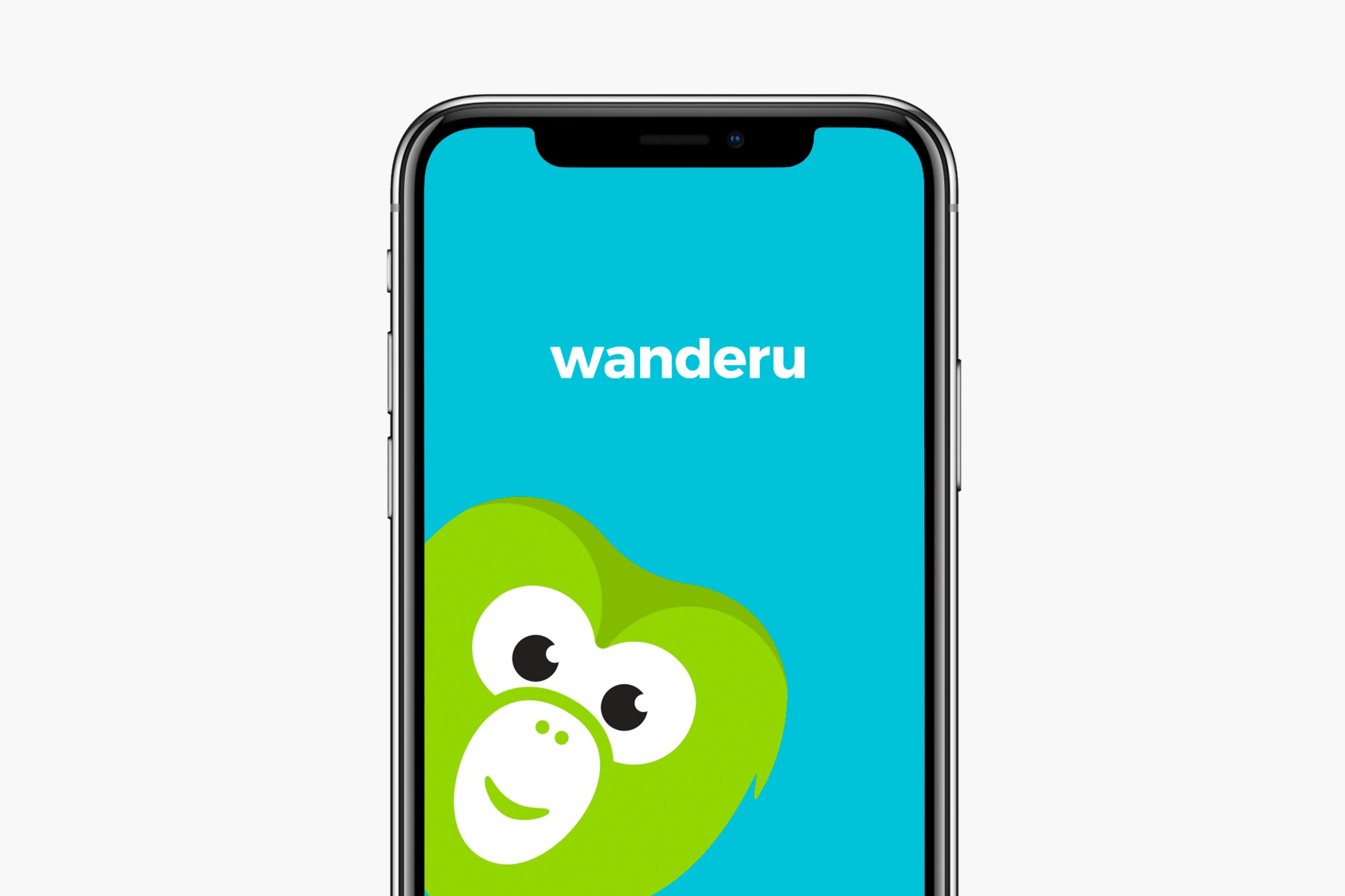 Wanderu app design for iOS