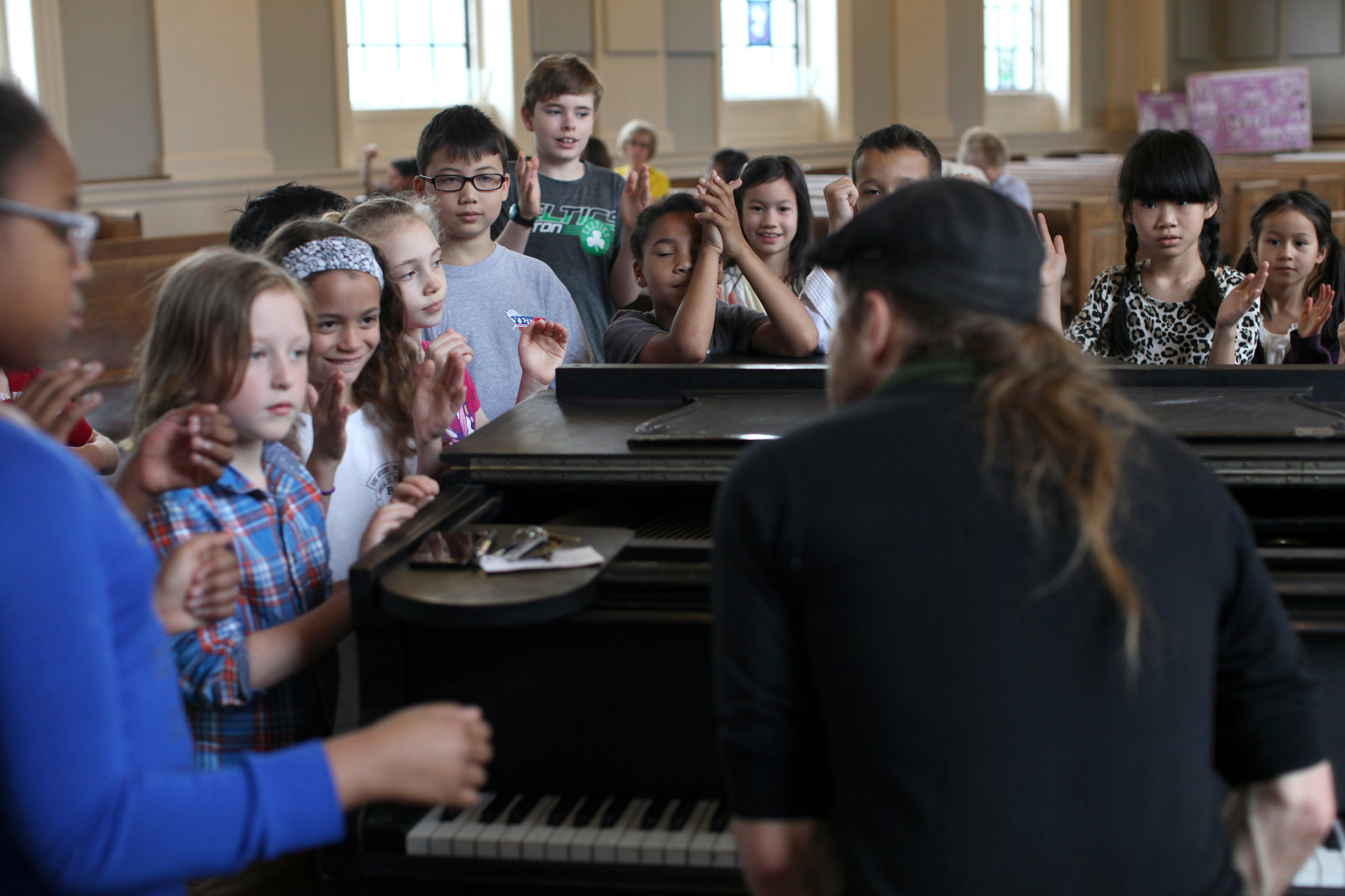 """For Ages 7-14Rhythmic-Solfège courses: - ‣Energize student's rhythmic and metric vitality‣Deepen musicianship & musicality, with particular attention to nuance, Form and aesthetics as it relates to performance‣teach students to """"hear"""" with their eyes and """"see"""" with their ears, listening internally and imagining how the notes and rhythms students hear will look when written."""