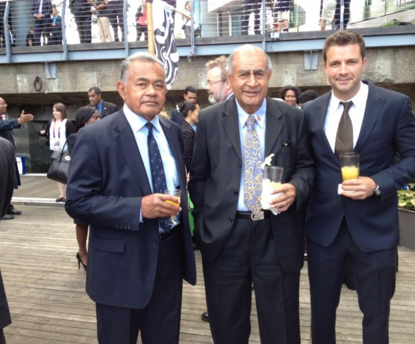 Copy of  BRITISH SAS & PRESIDENT EPELI Nailatikau Of Fiji and TS