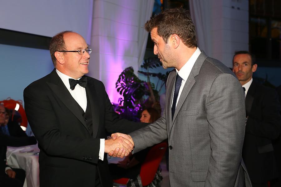 HRH Prince Albert of Monaco.