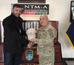 Afghanistan - Colonel Lamb, CHIEF OF STAFF - NATO Training Mission & Combined Security Transition Command.