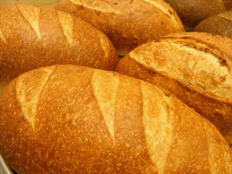 Sourdough Breads - Spelt Baker St.Kootenay SunflowerLight Rye RussianRye Caraway RyeSelkirk SourdoughSilica St.100% ryeSprouted Mountain