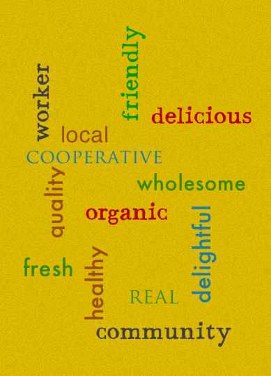 All of our baked goods - are created by us from ingredients that we choose.