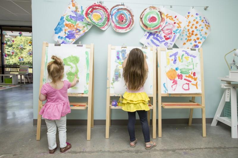 Wee Create Art Classes For Kids Kansas City Making