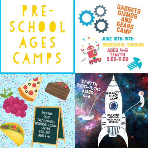 Wee Create Art Studio For Children - Pre-School Camps: Gadgets