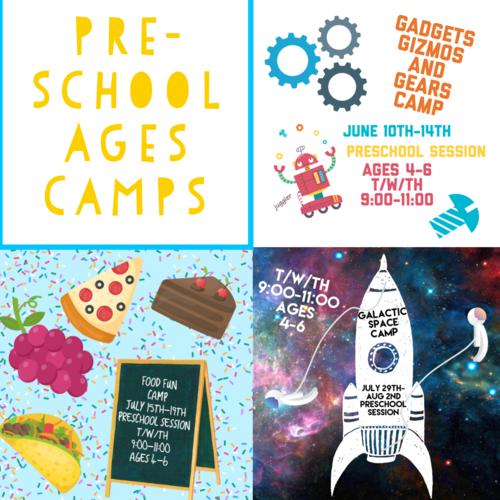 Wee Create Art Studio For Children - Pre-School Camps