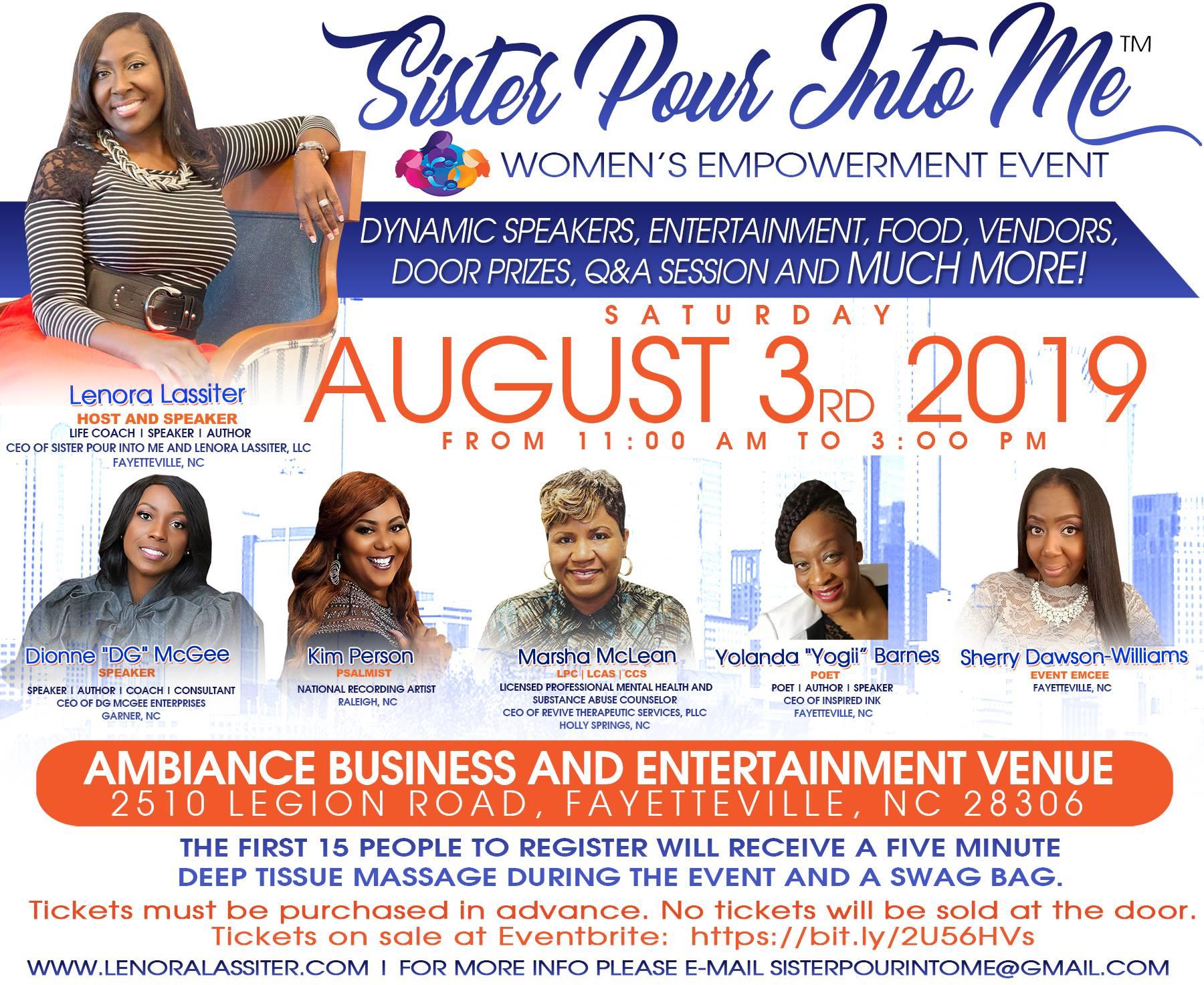 spim2019 - Women's Empowerment 2020 Raleigh Vendor Application