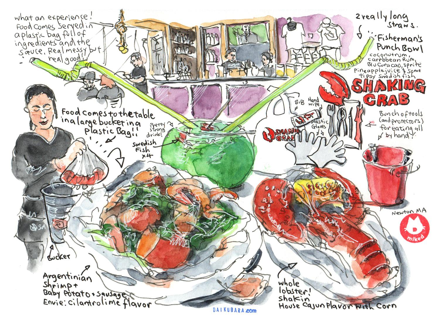 Sketch by Boston-based artist Mike Daikubara: @mikedaikubara