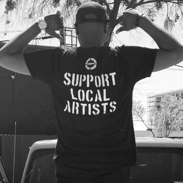 SUPPORT LOCAL ARTISTS @djalcide #supportlocalartists . . . . . #art #artists #artistsoninstagram #dj #music #hiphop #support #boston #texas #newyork #california #nipseyhussle #rap #painting #artlife #awareness #live #love #peace #jeep #represent
