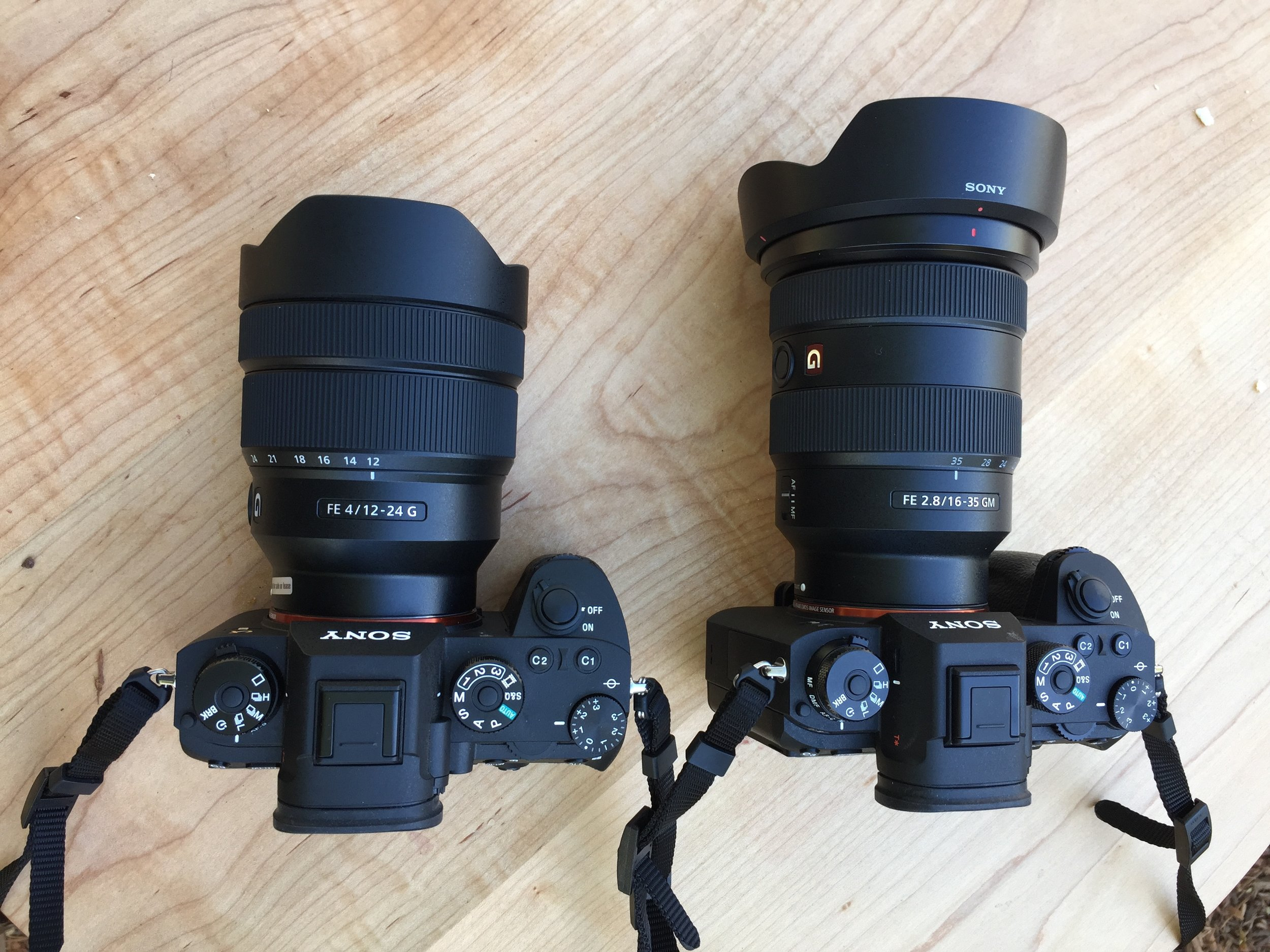 Sony A9s with the new  12-24mm f4  and  16-35mm f2.8