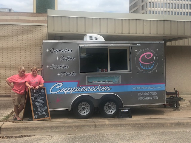 Our new Cuppiecakes trailer! Keep up with our location on our social media sites or send us an email to request us at your next event!