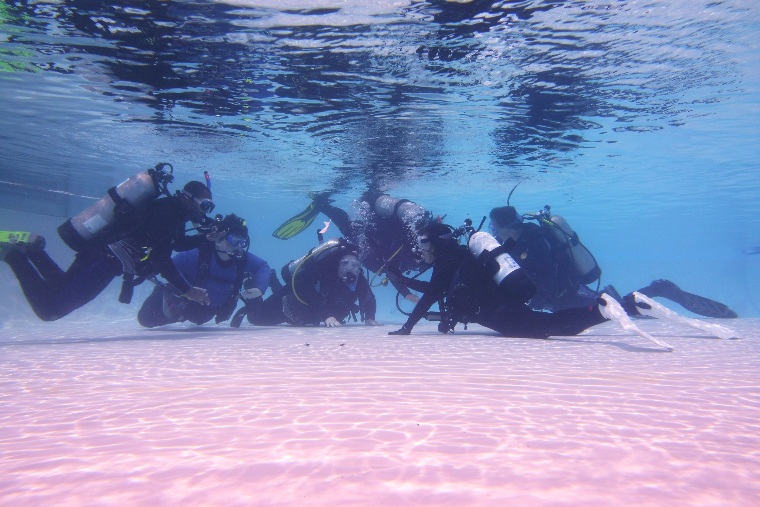 CLASSES - We have scuba instructors ready to get you trained and PADI certified for your water adventures!