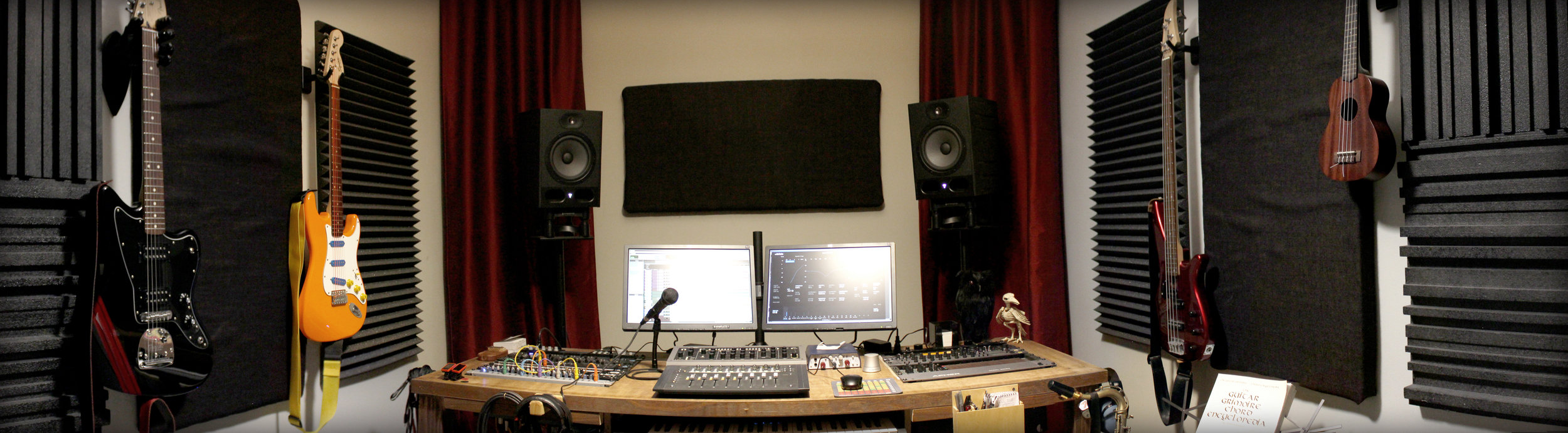 Mixing Room Panorama