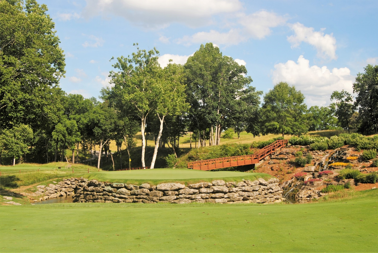 The Beautiful 13th Green at Valhalla