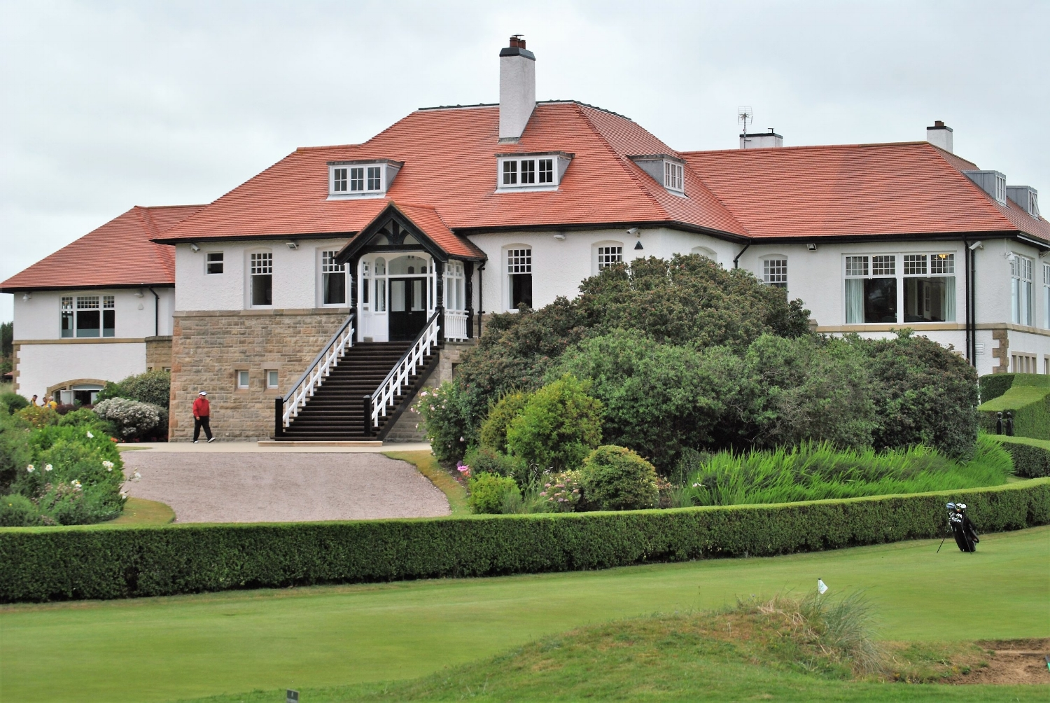 The club house at Royal County Down