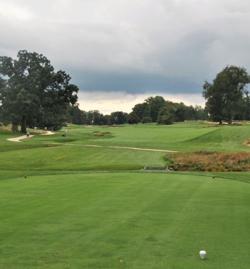 The fifth hole