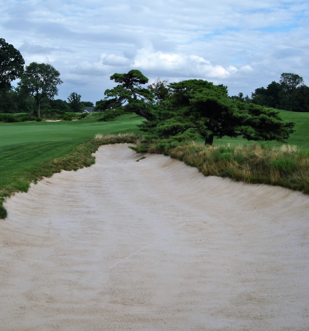 My drive on the 16th hole landed in a fairway bunker. It only got worse from there.