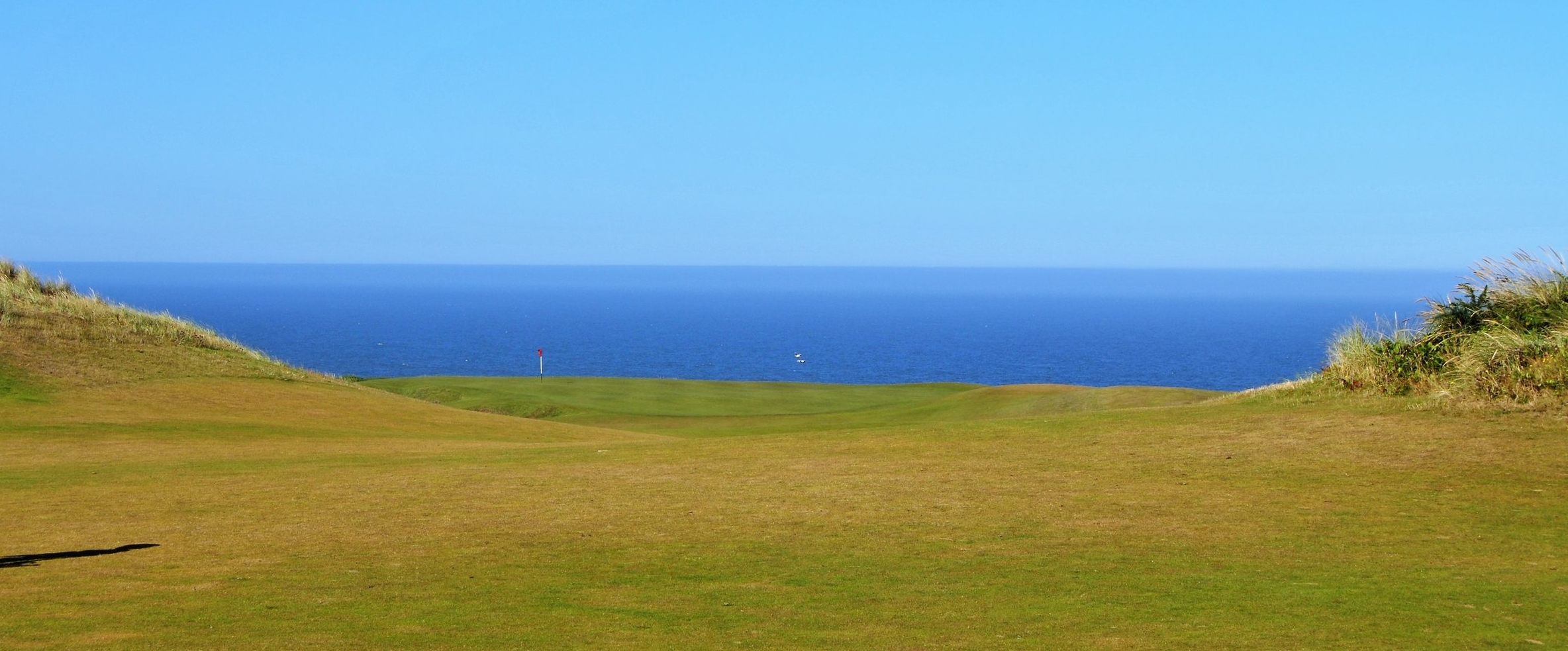 The 4th green at the Bandon Dunes Course