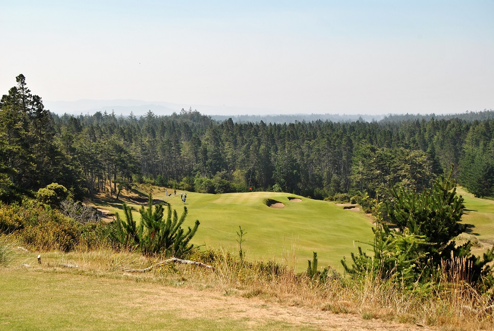 A view of the 14th hole.