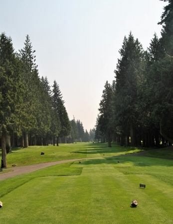 The first hole fairway on the South nine.