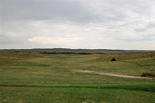 The practice range.
