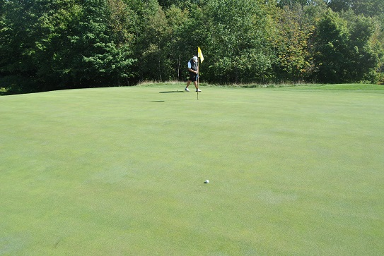 A green in regulation doesn't amount to much on the mean greens of Crystal Downs.