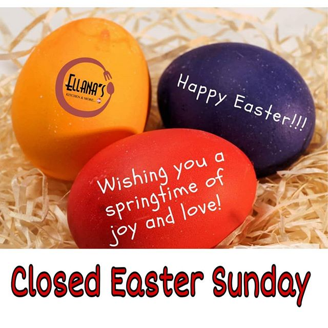Happy Easter.  We will be closed on Easter Sunday. #newtonmass #newtoncenter #comidavenezolana #venezuelansinboston #venezuelanfood #venezolanosboston #happyeaster #bostonfoodies #foodies #glutenfree #bostonfoodlife