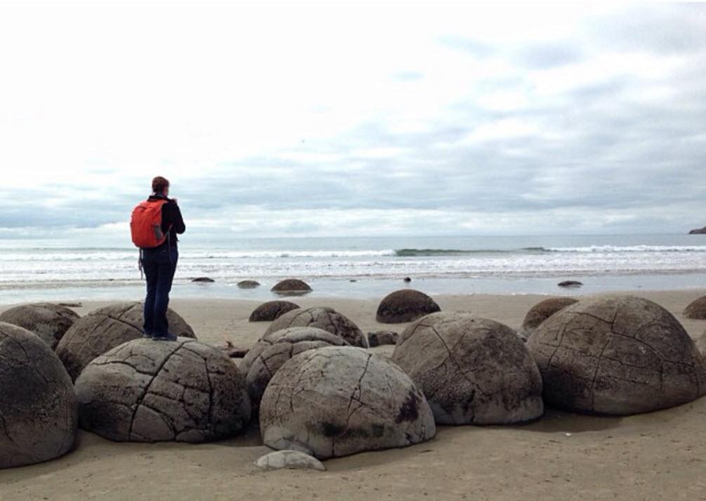 Moeraki Boulders, Otago Coast, New Zealand