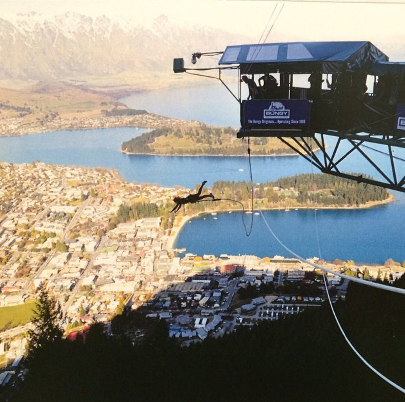 Bungy Jumping, Queenstown, New Zealand