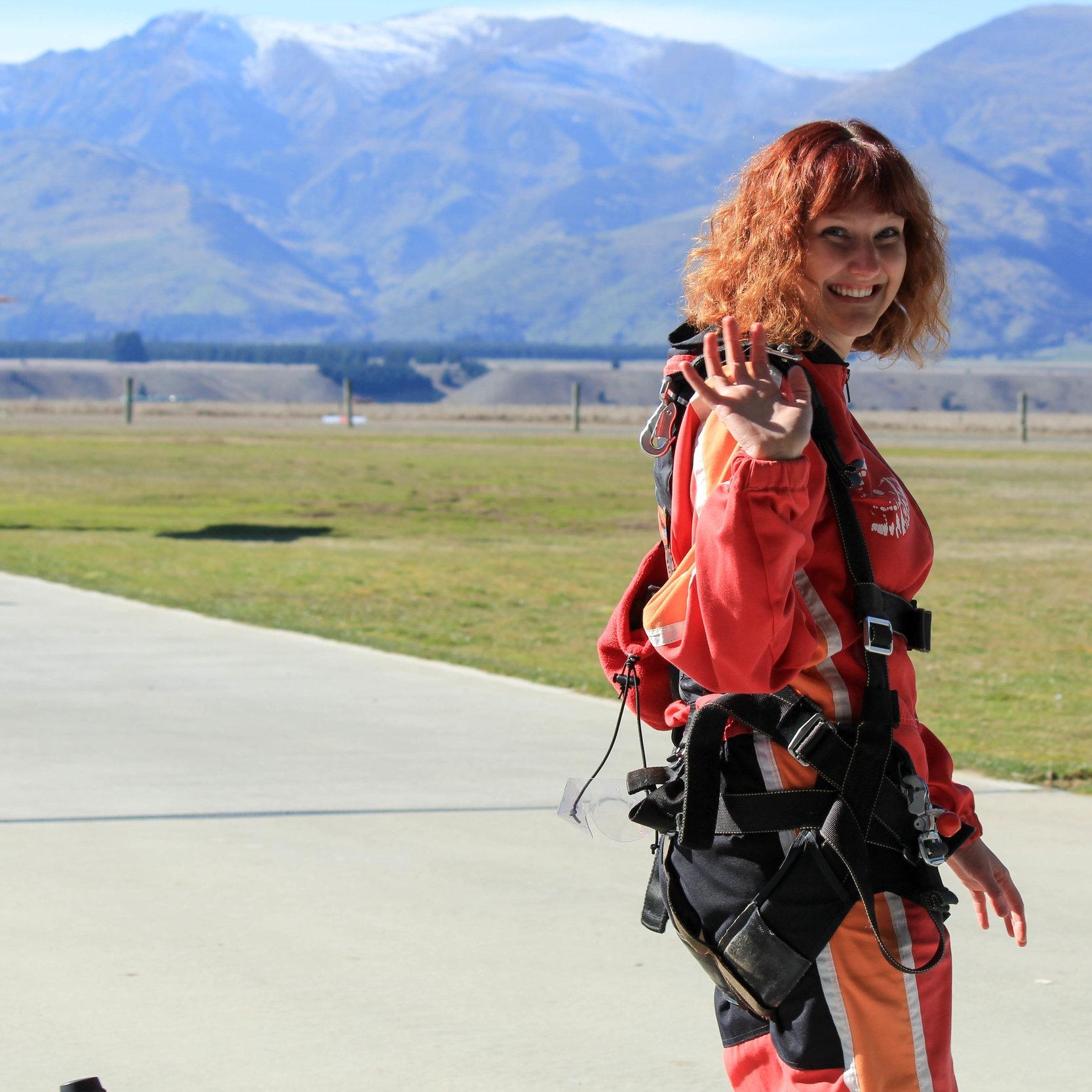 Skydiving Wanaka, New Zealand