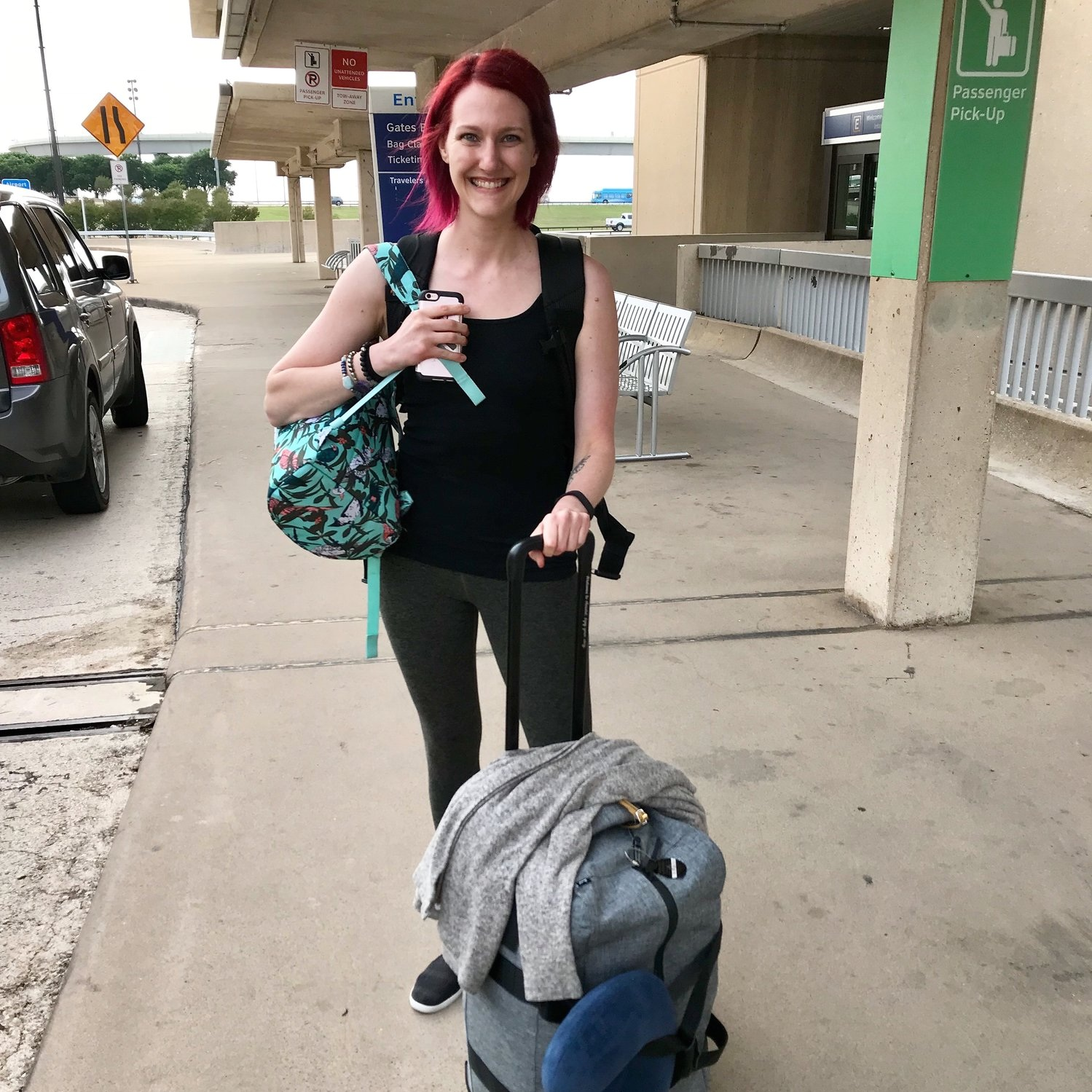 Start of my nomadic journey - dfw to syd - May 2, 2018