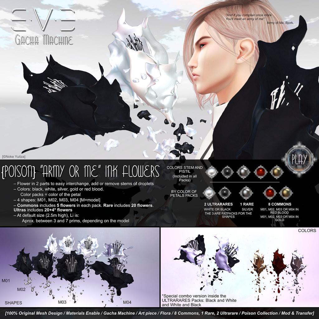 E.V.E {Poison} Army of Me Ink Flowers.jpg
