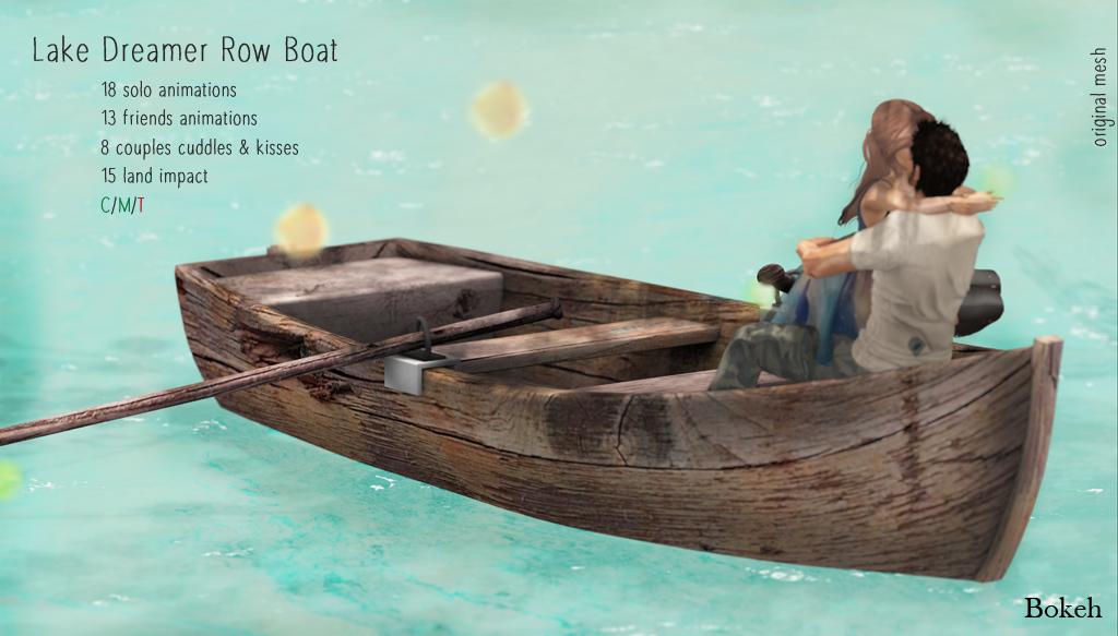 Bokeh Lake Dreamer Row Boat.png