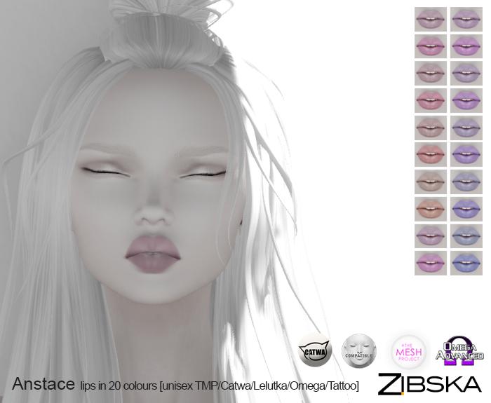 Zibska ~ Anstace Lips in 20 Colours.jpg