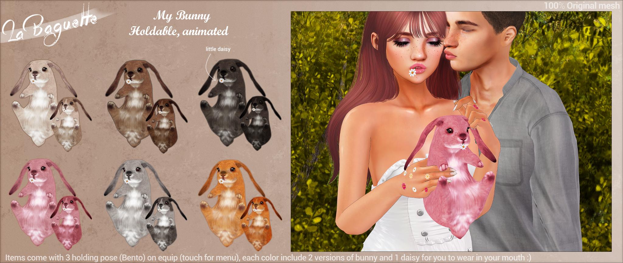 La Baguette - My Bunny