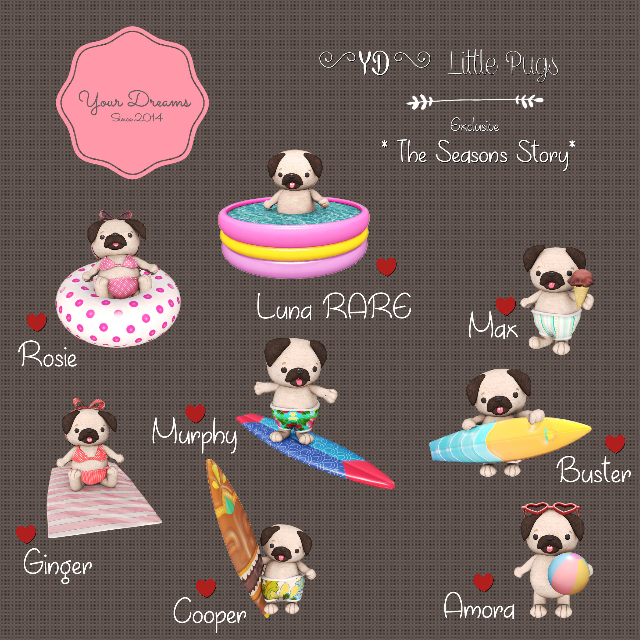 {YD} Little Pugs