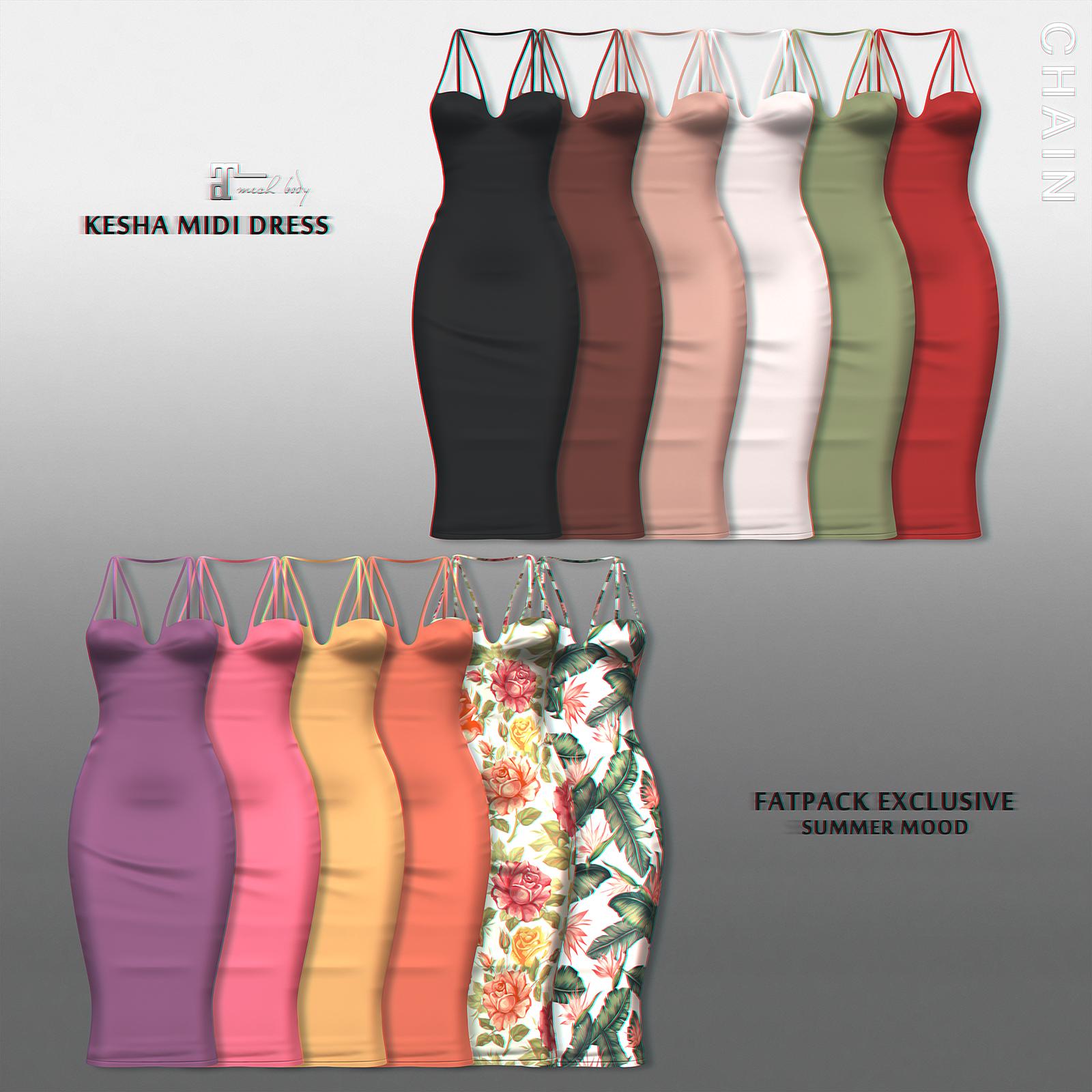 CHAIN - Kesha Mini Dress