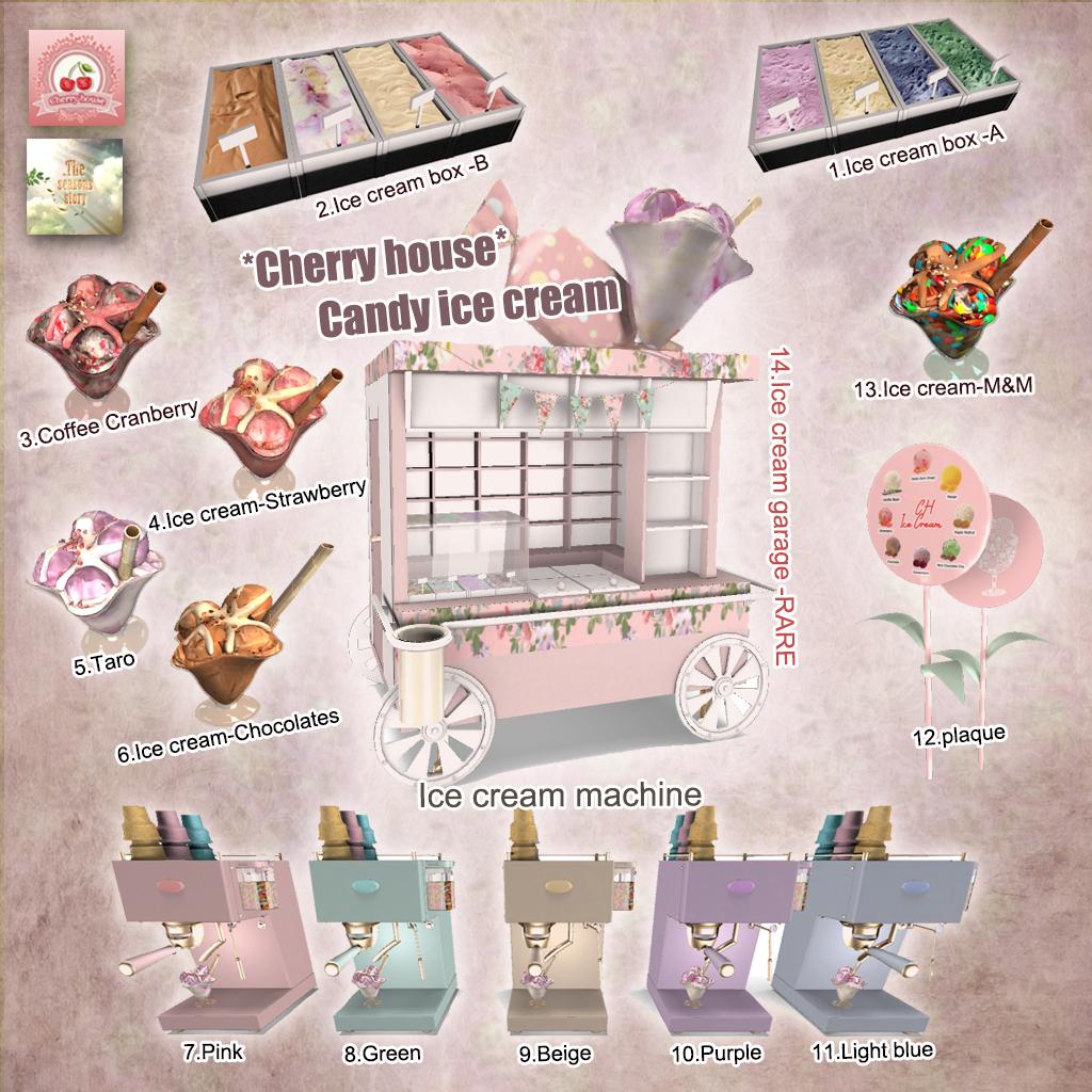 Cherry House - Candy Ice Cream