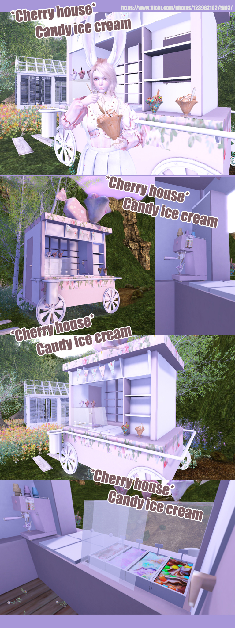 Cherry House - Candy Ice Cream