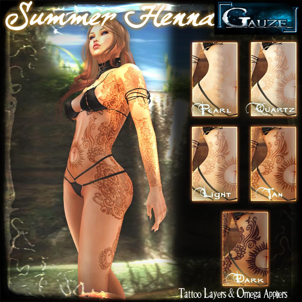 Gauze - Summer Henna