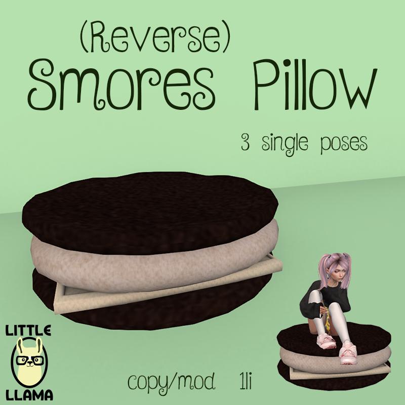 LL Reverse Smores Pillow